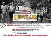 Register for Mzumbe University Alumni Day Friday 17th June 2016