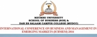 Mzumbe University organizes International Conference on Business Management in Emerging Markets (ICBMEM) 2016
